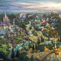 CONCEPT ART: New areas featuring Never Land, Arendelle, and Rapunzel's Tower, plus new Hotel confirmed