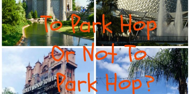 To Park Hop or Not To Park Hop? www.mouseterplanner.com
