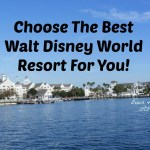 The Disney Resort That's Best For You!