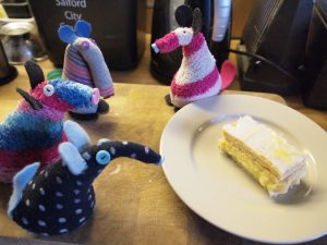 Dim returns with Ratvaark and Winston. The custard slice is a little shorter than it was. Matilda looks innocent.