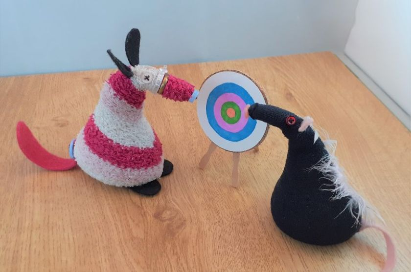 Matilda has changed the target to one in on light colours