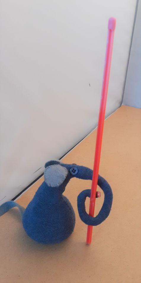 ernest has a long pole