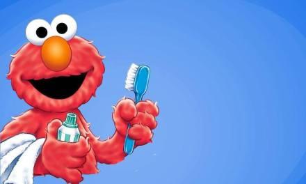 elmo's brushy brush your teeth song
