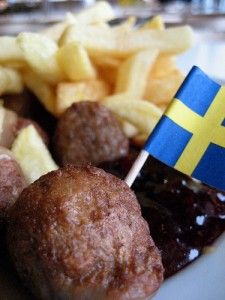 Köttbullar, albóndigas suecas