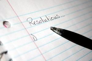 Resoluciones año nuevo