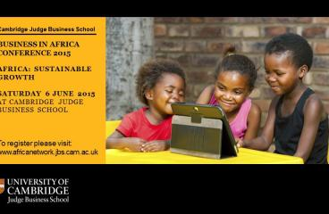 Cambridge University, 2015 Business in Africa Conference Preview