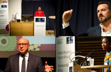 Oxford BFA Roundup: Don't be afraid to be unreasonable, Africa