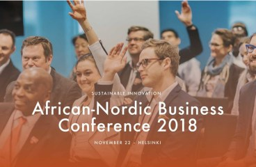 Sustainability and Access!  African-Nordic Business Conference 2018