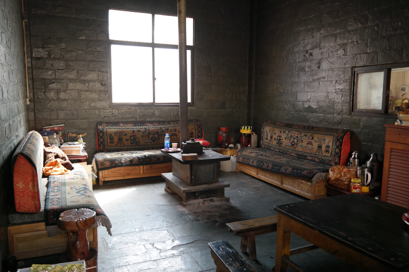 China - Yunnan - Traditional Living Room