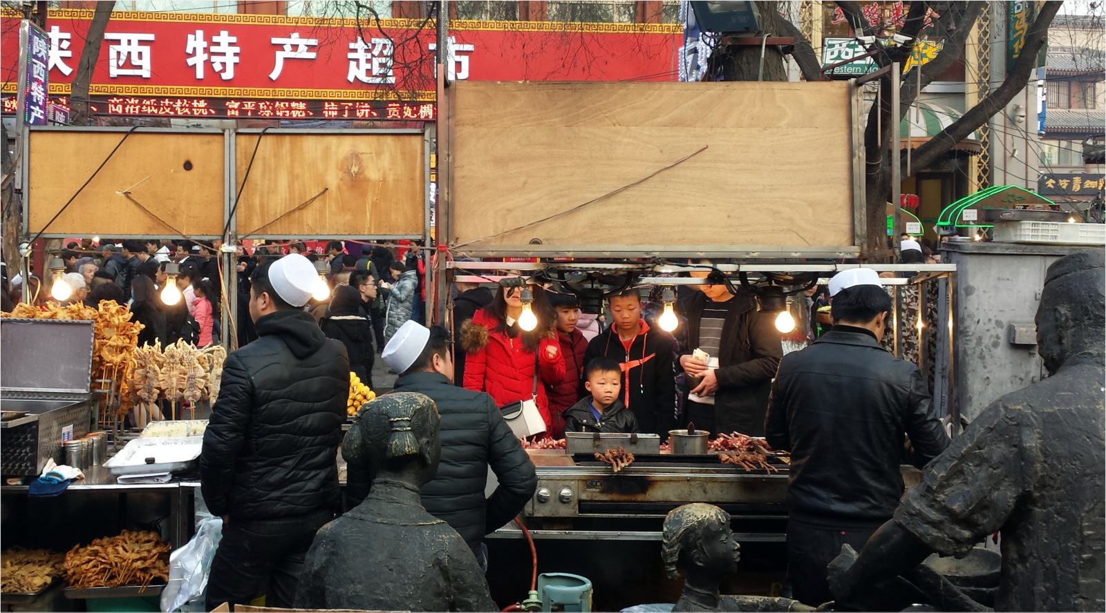 China - XiAn - Muslim street food