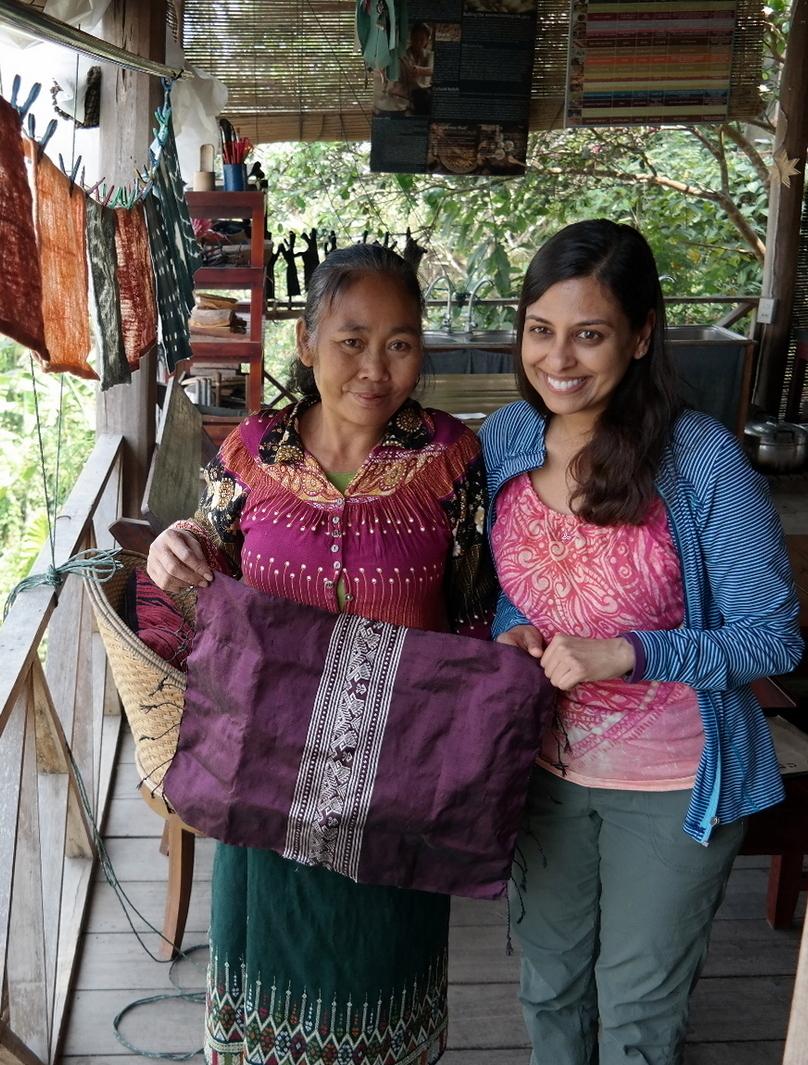 Laos Ock Pok Tok Weaving Class