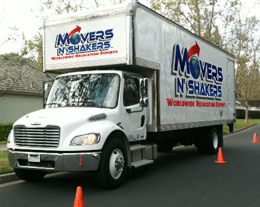 Pleasanton Moving Companies Truck