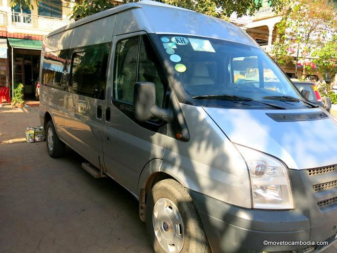 Mey Hong Transport mini bus