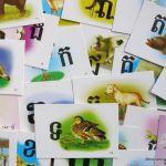 Learning Khmer: language flash cards