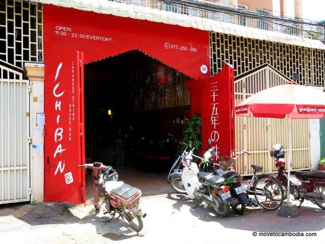 Phnom Penh's latest casual Japanese cafe, Ichiban.