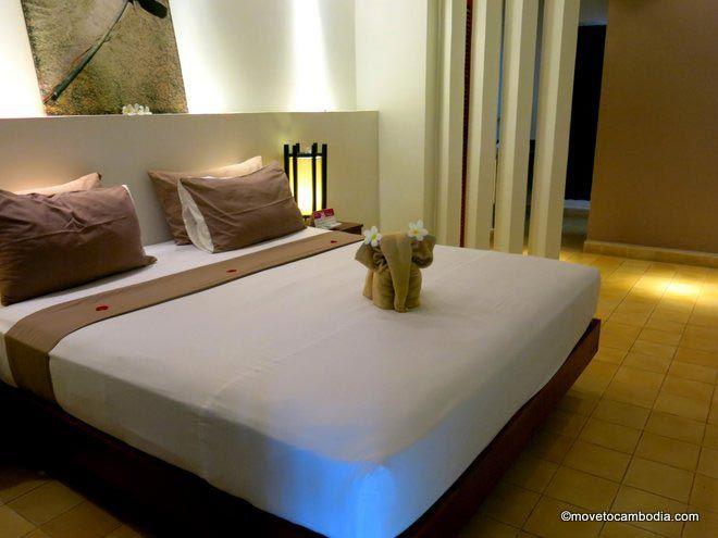 Battambang Resort room