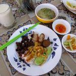 eating vegan in Cambodia