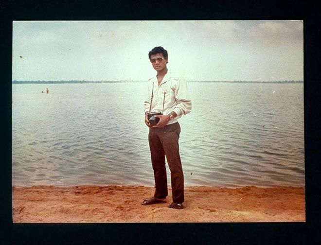 Taken in 1985 in Kampot, Cambodia. Photographer unknown.