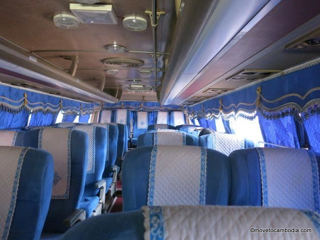 Capitol Tours bus Siem Reap Battambang