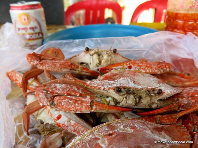 Crab from Kep's Crab Market