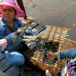 Bargaining for crabs in Kep