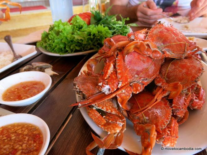Crabs from Kep Crab Market