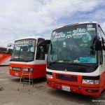 Cambodia Vietnam bus