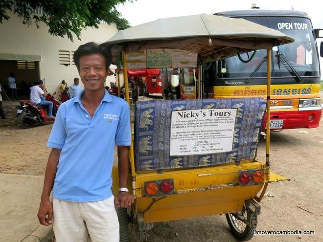 Nicky tuk tuk Battambang