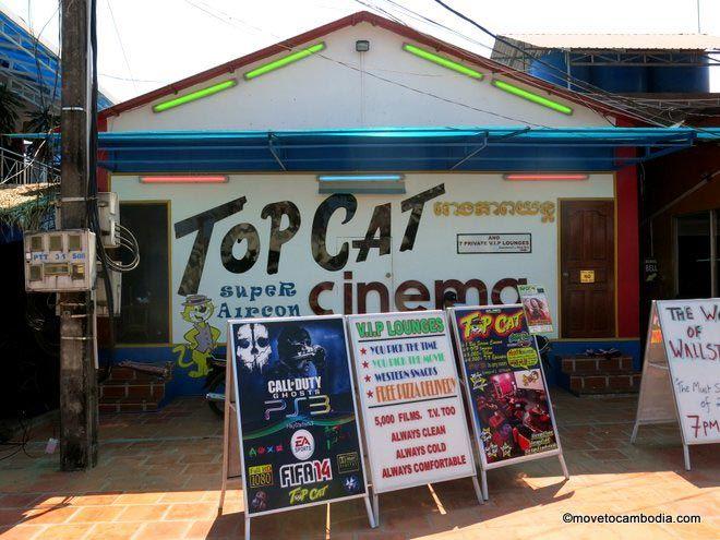 Top Cat Cinema Sihanoukville
