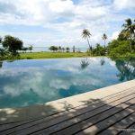 pool view at Villa Romonea Kep