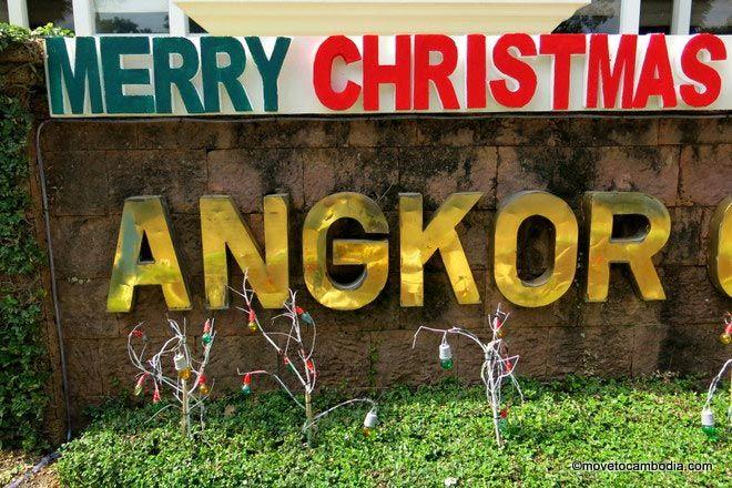 Christmas in Siem Reap
