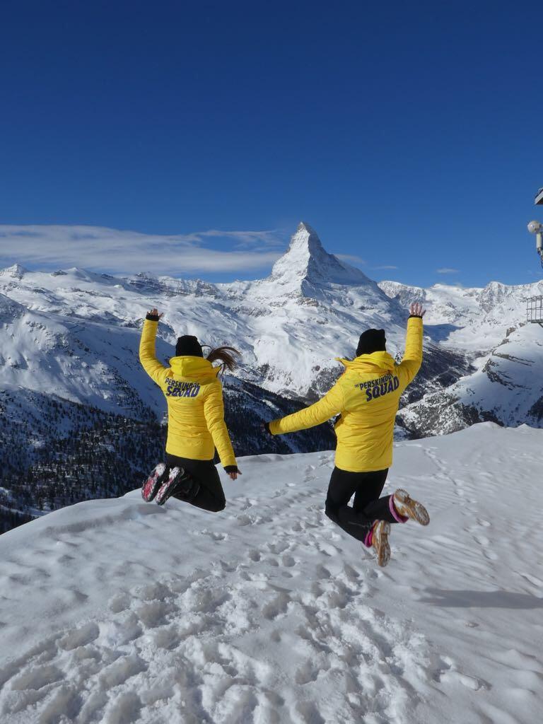 Sampling, Promotionen Schweiz, Sampling im Schnee