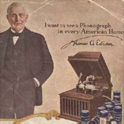 Edison phonograph moved by Anchor Moving-1