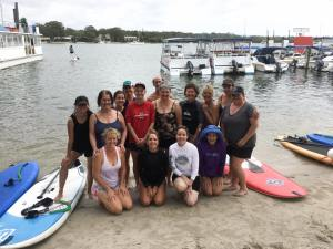 SUP Yoga group December 2016