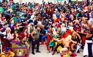 MARVEL VS DC: COMIC CON MOVIE SUMMARY