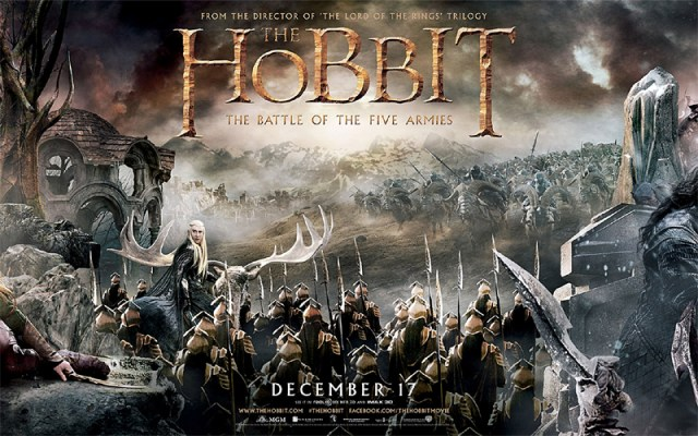 The Hobbit Battle of Five Armies movie review