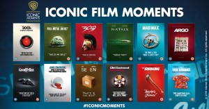 Warner Bros Iconic Film Moments