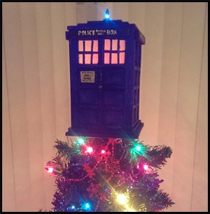 Tardis Tree Topper