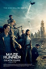 Maze Runner: The Death Cure (2018) movie poster