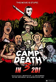 Camp Death III in 2D (2018) movie poster