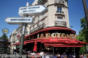 >A Bout de Souffle film location: La Rotonde, Boulevard Montparnasse, Paris