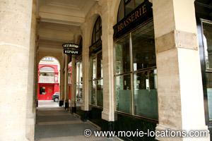 Midnight In Paris location: Le Grand Vefour,rue de Beaujolais, Paris