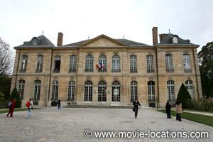 Midnight In Paris location: Musee Rodin, Hotel Biron, rue de Varenne, Paris