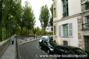 Midnight In Paris location: quai de Bourbon, Ile St Louis, Paris