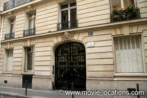 Midnight In Paris location: rue de Fleurus, Paris