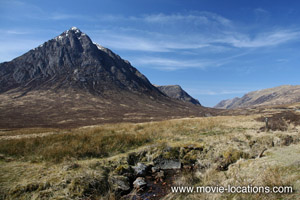 Skyfall filming location: Buachaille Etive Beag, Glencoe, Scotland