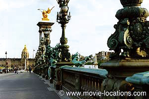 Midnight In Paris: Pont Alexandre III, Paris