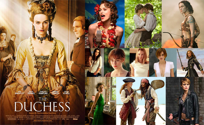 About Keira Knightley (1985 - )