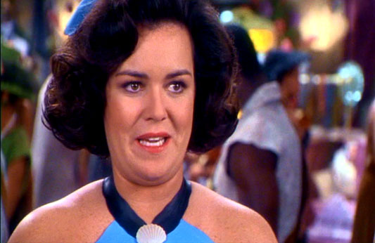 Image result for rosie o'donnell in flintstones