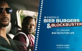 Smul van de voorpremière van Bad Boys For Life en bier en burgers voor €1,- bij Kinepolis